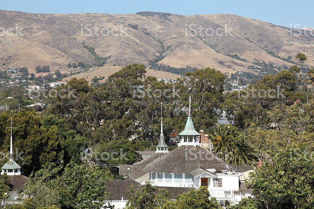San Luis Obispo, California, USA stock photo