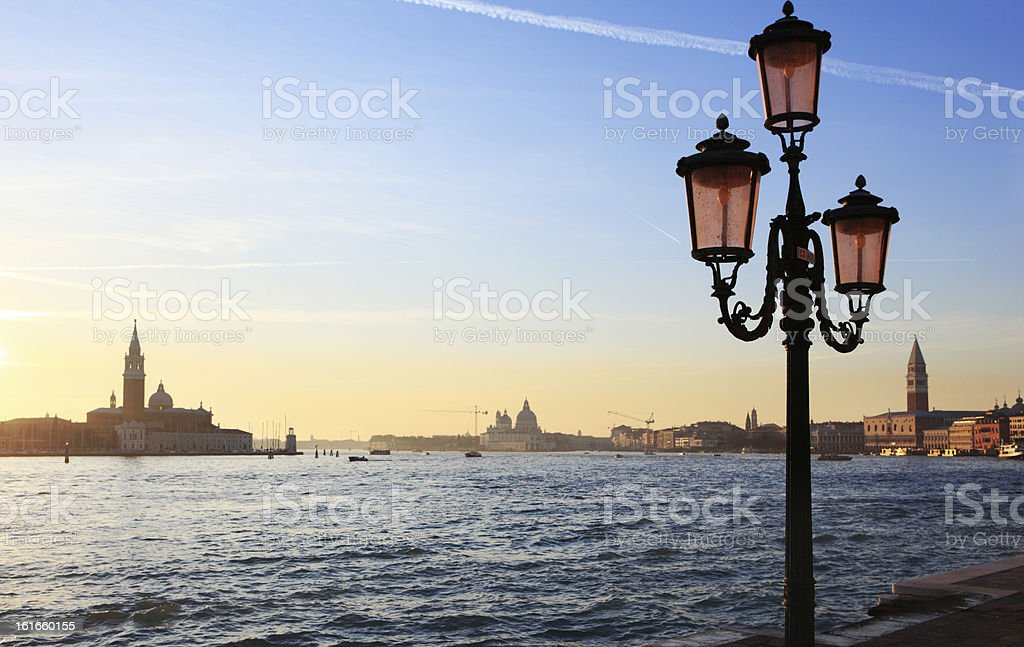 San Marco canal in Venice, Italy royalty-free stock photo