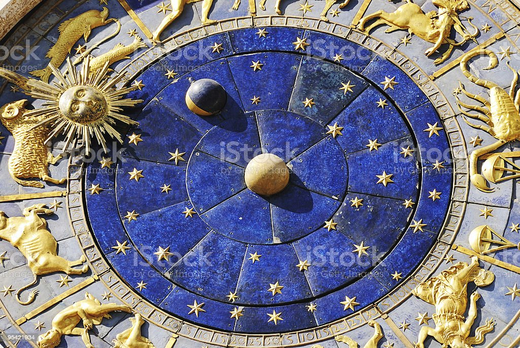 San Marco Clock royalty-free stock photo