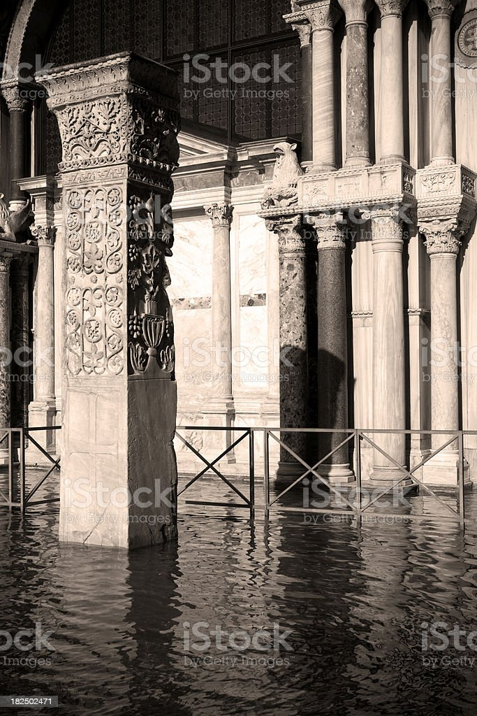 San Marco flooded. royalty-free stock photo