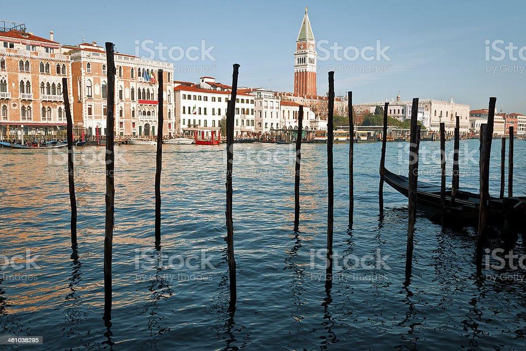 San Marco from Santa Maria della Salute, Venice, Italy royalty-free stock photo