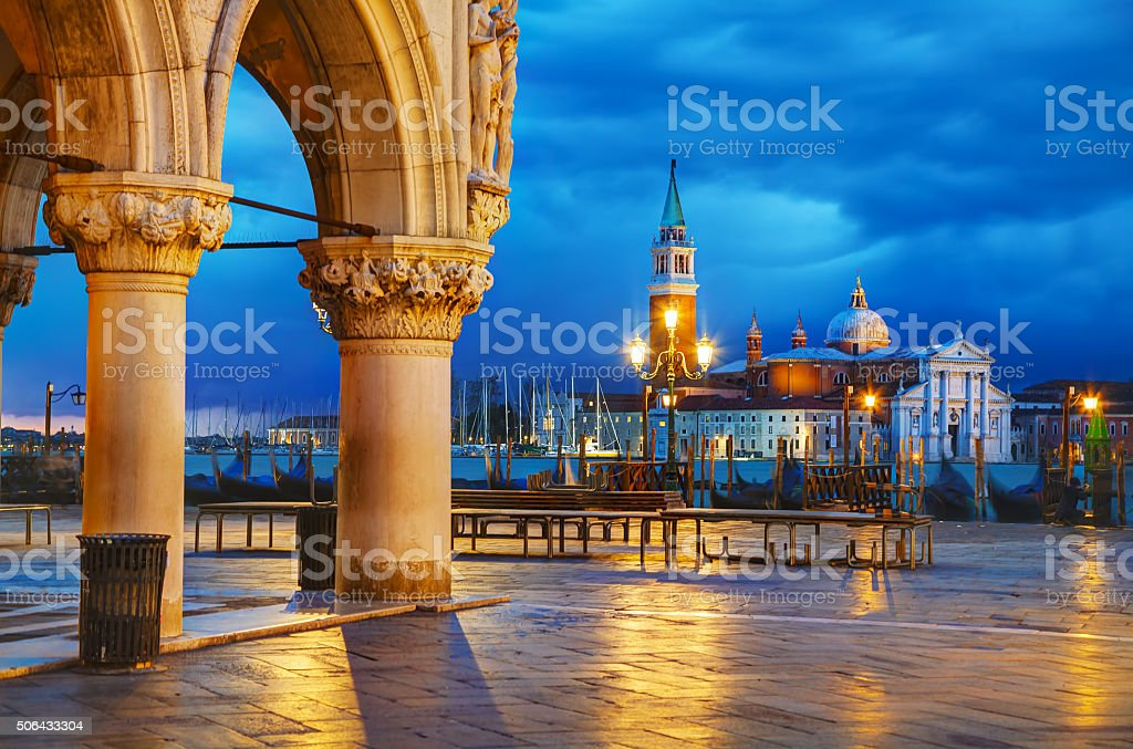 San Marco square in Venice, Italy stock photo