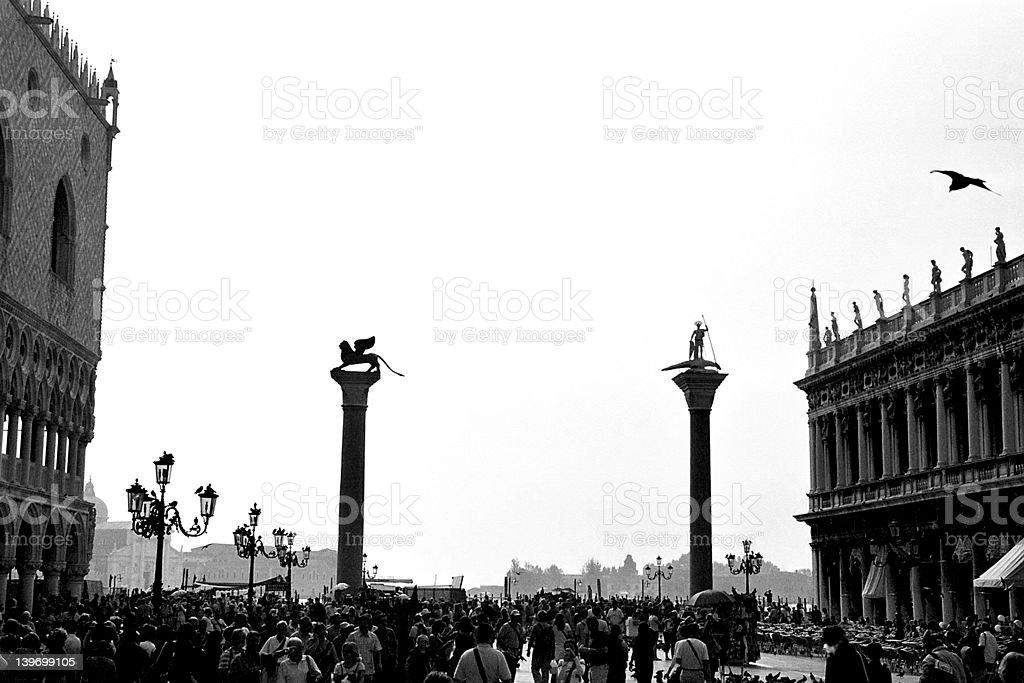 san marco square royalty-free stock photo