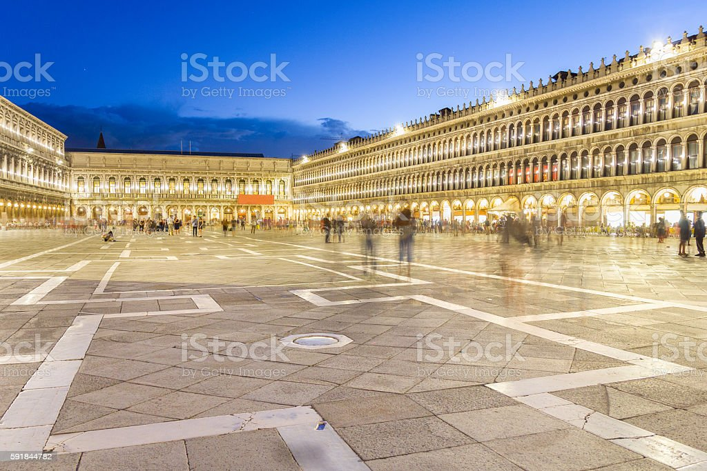 San Marco square, Venice, Italy stock photo