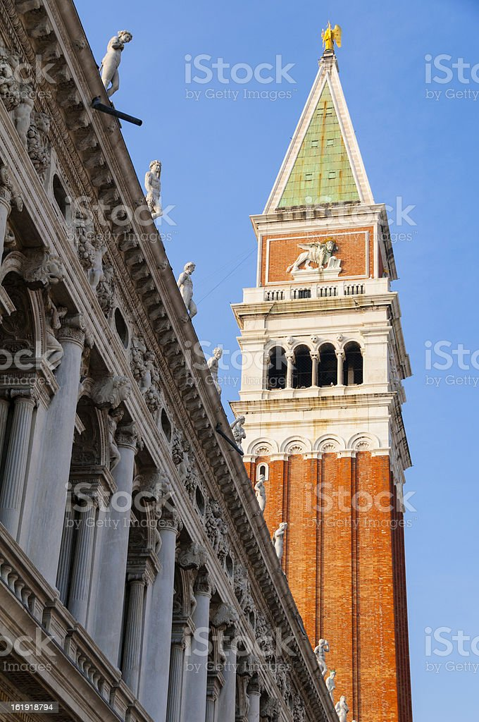 San Marco tower royalty-free stock photo