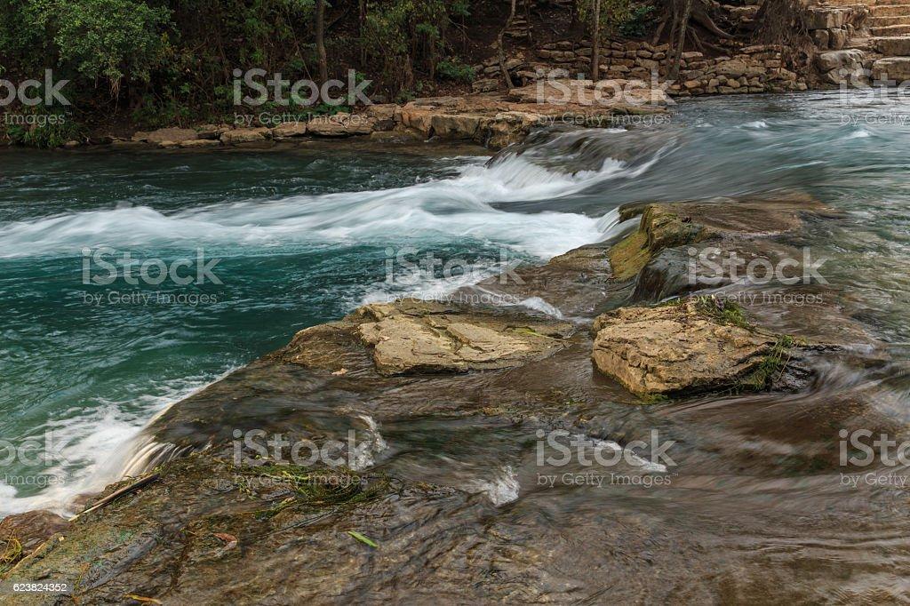 San Marcos Chute stock photo