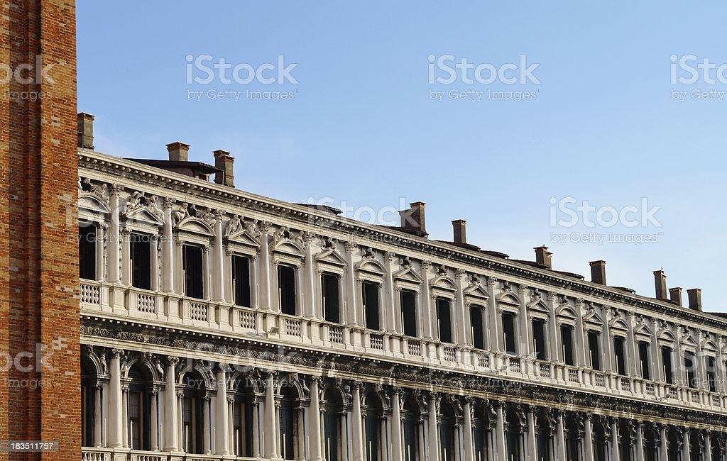 San Marcos Square, Venice stock photo