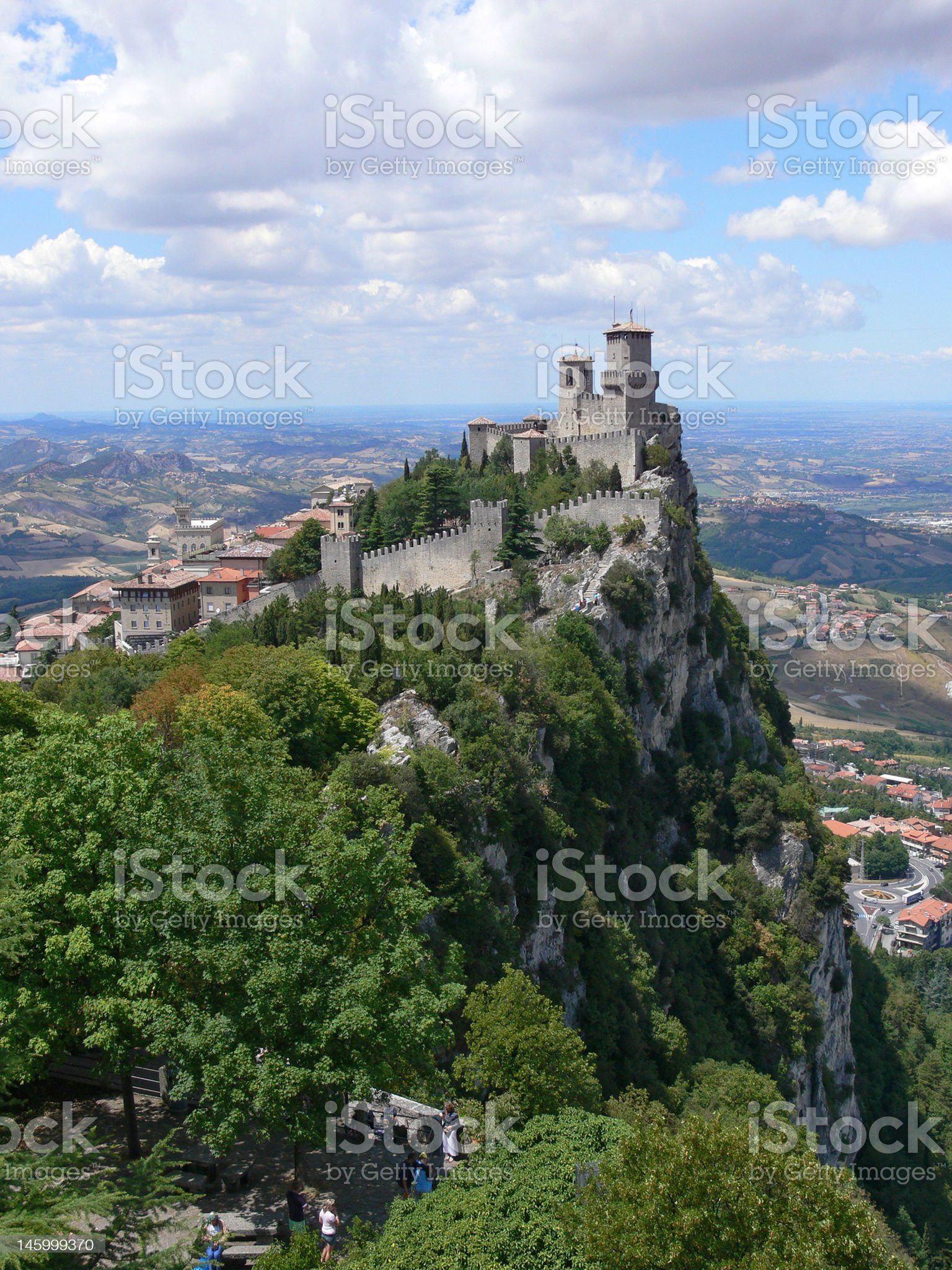 San Marino - Guaita or Rocca, the First Tower royalty-free stock photo