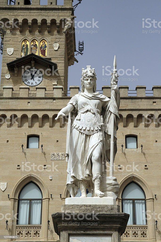 San Marino stock photo