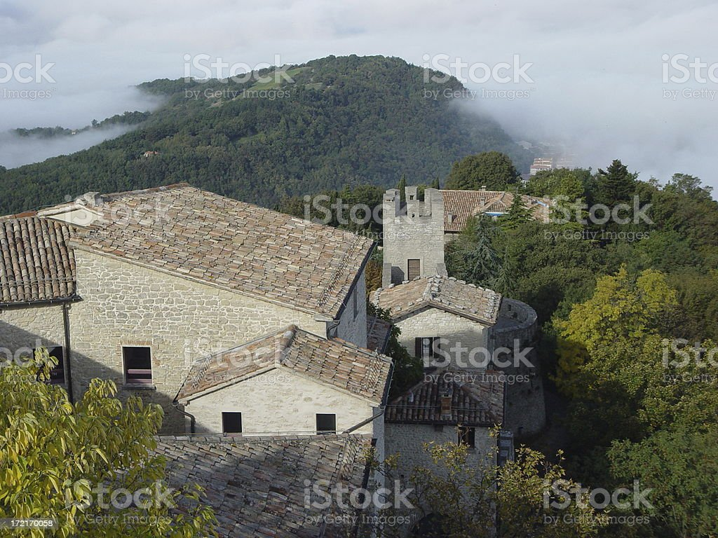 San Marino royalty-free stock photo