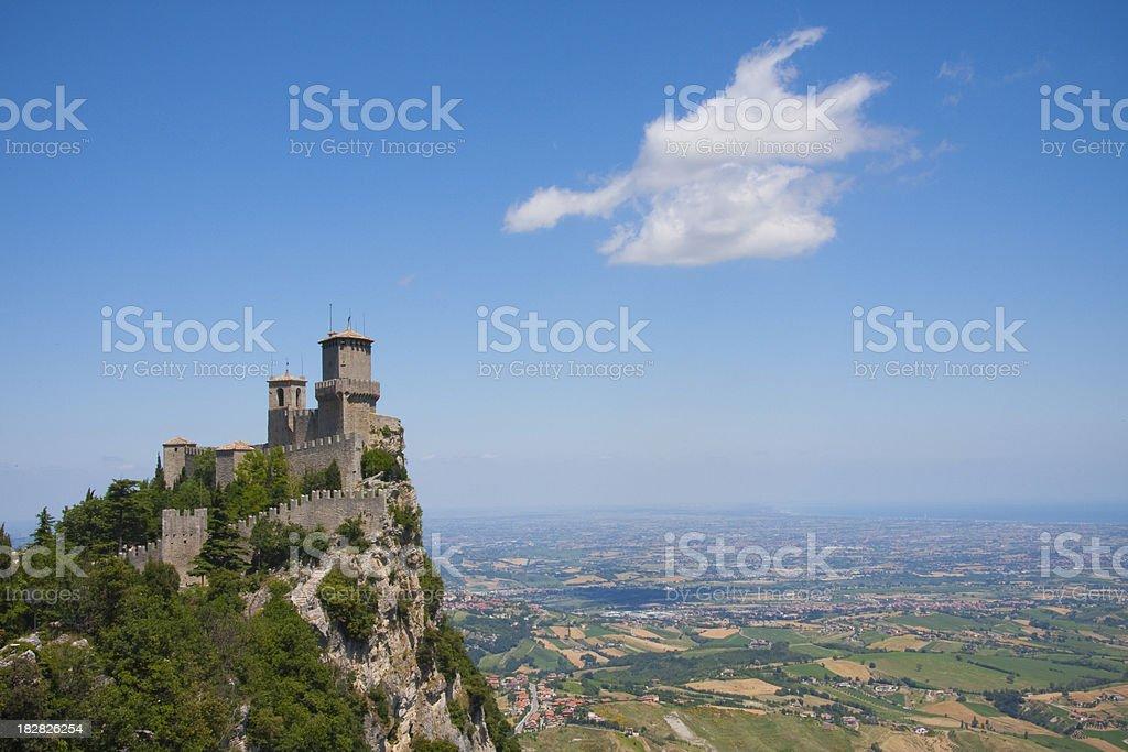 San Marino royalty-free stock photo