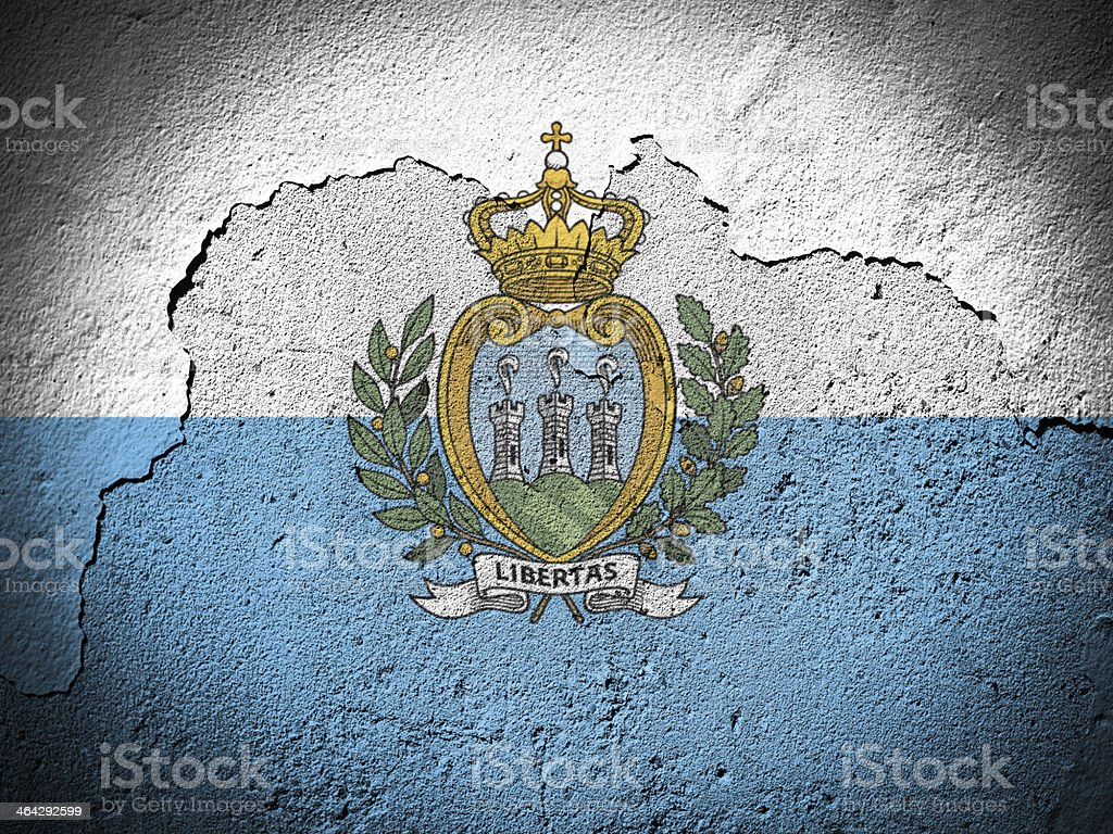 San Marino stock photo