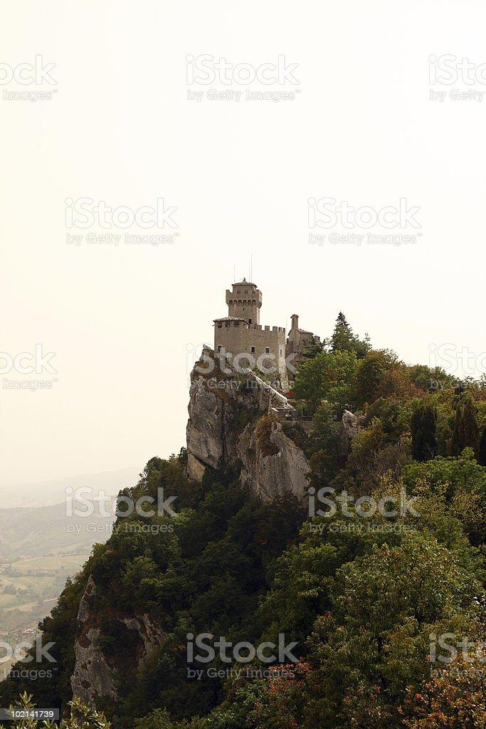 San Marino Tower royalty-free stock photo