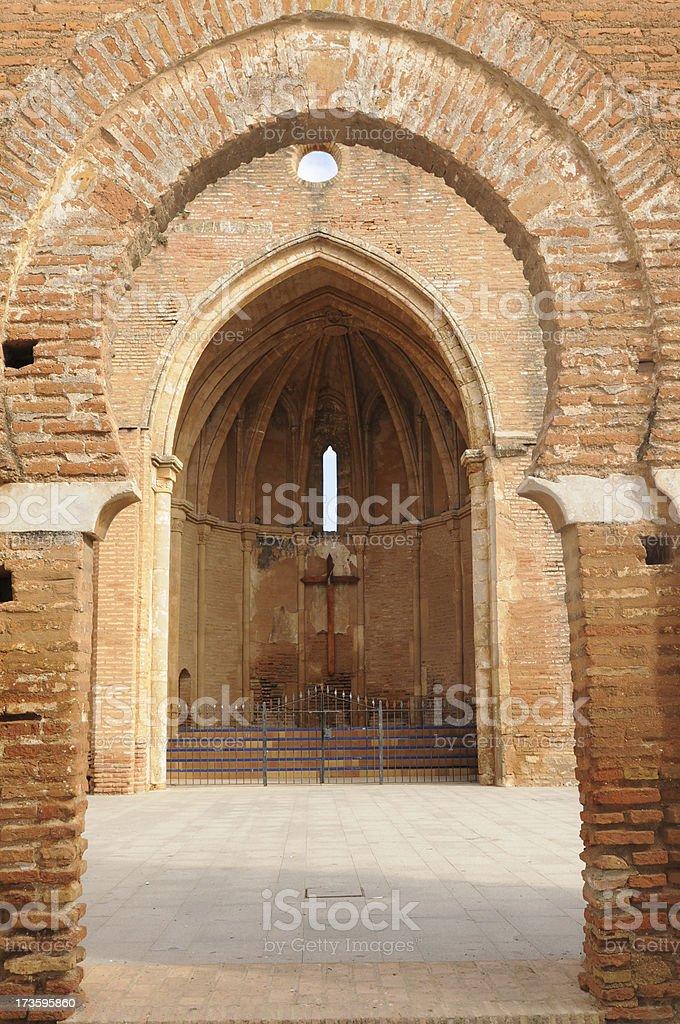 San Martin Church, Niebla royalty-free stock photo