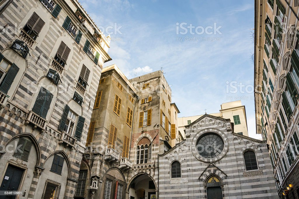 San Matteo Genova stock photo