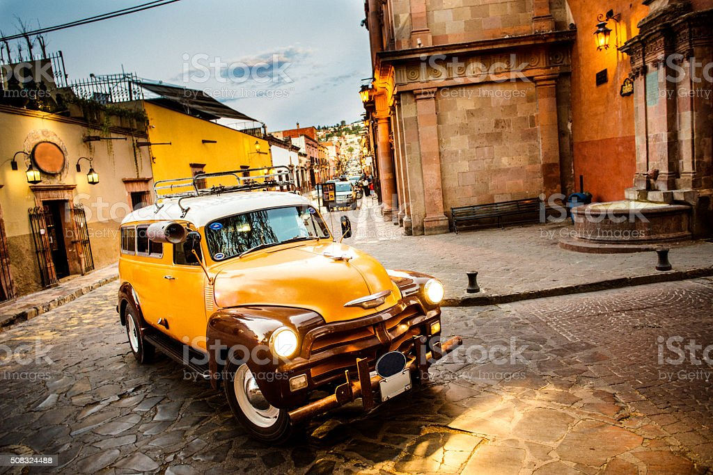 San Miguel de Allende in Mexico stock photo