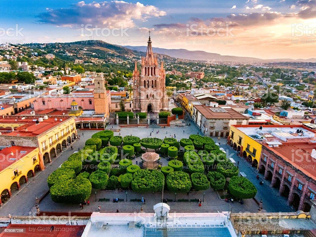 San Miguel de Allende Mexico stock photo