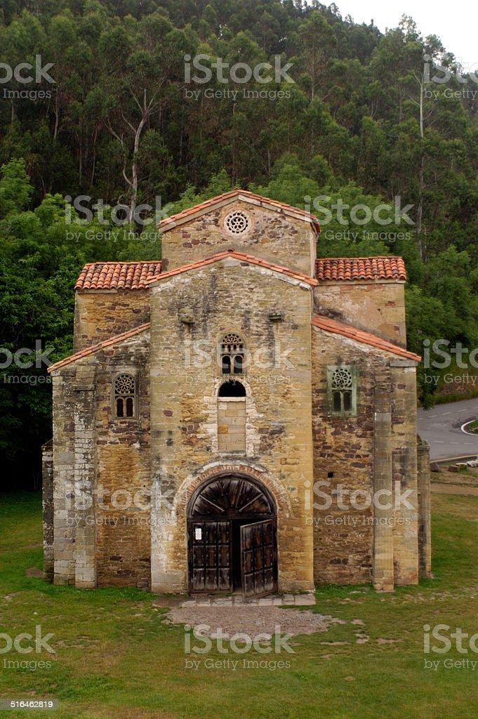 San MIguel de Lillo, Oviedo, Asturias stock photo
