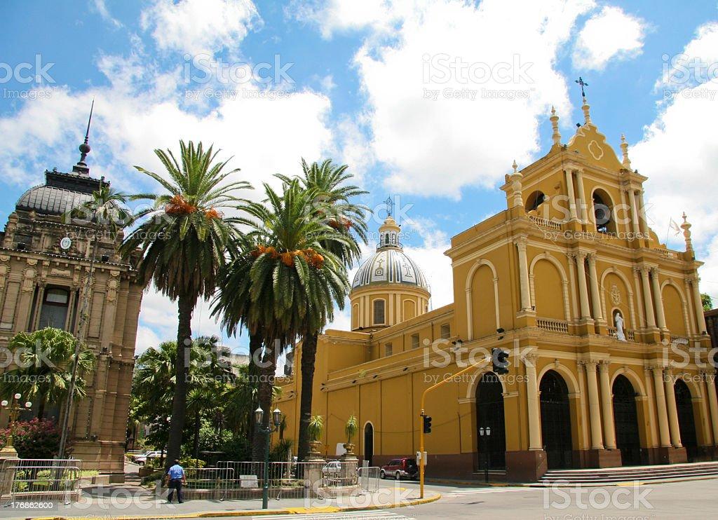 San Miguel de Tucuman stock photo