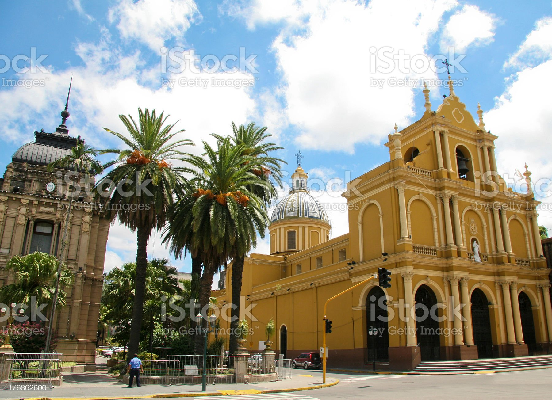 San Miguel de Tucuman royalty-free stock photo