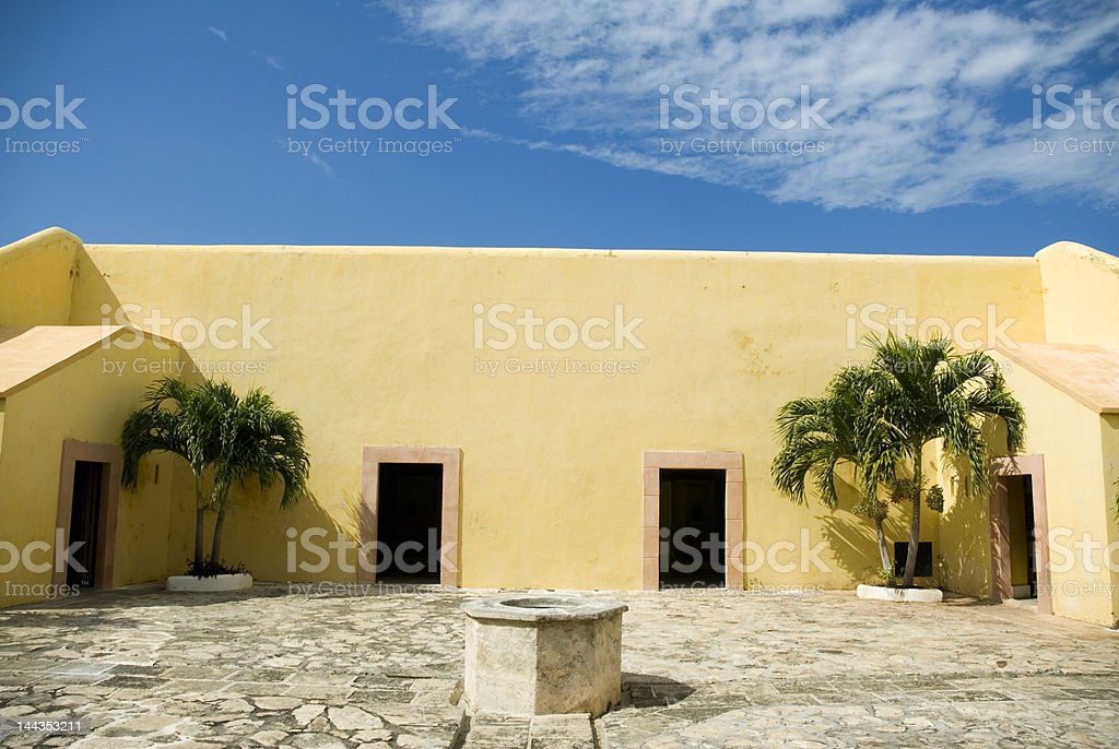 San miguel fort Campeche Mexico royalty-free stock photo