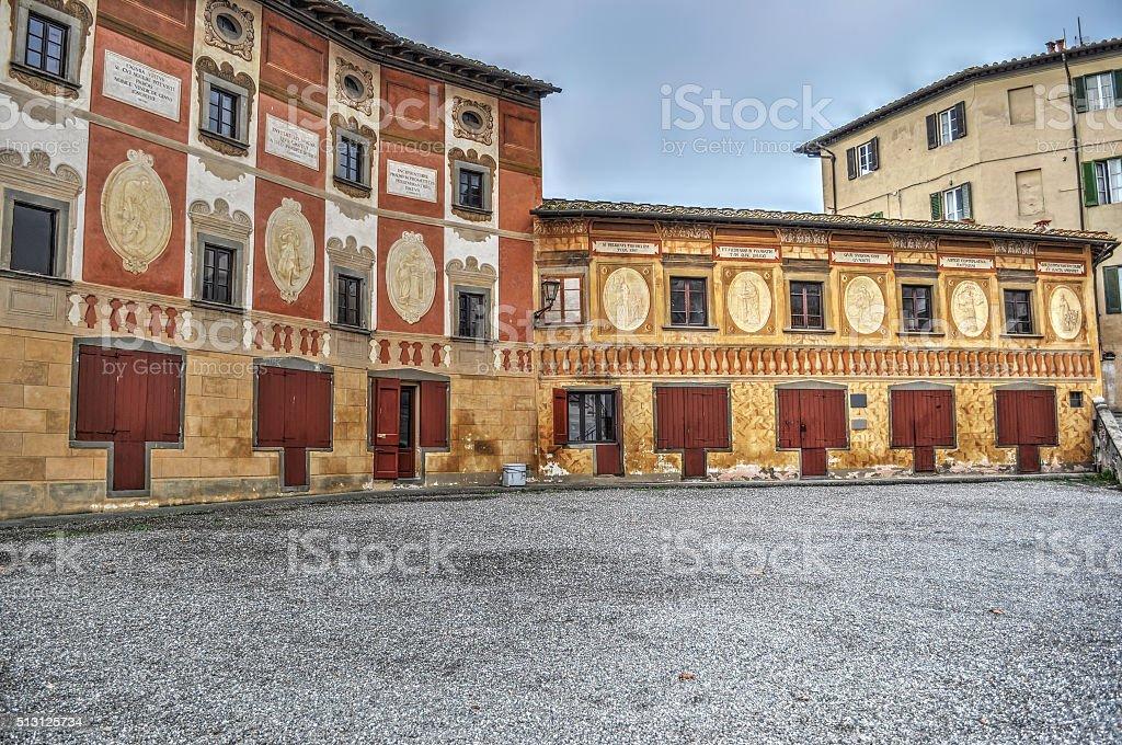 San Miniato seminary stock photo