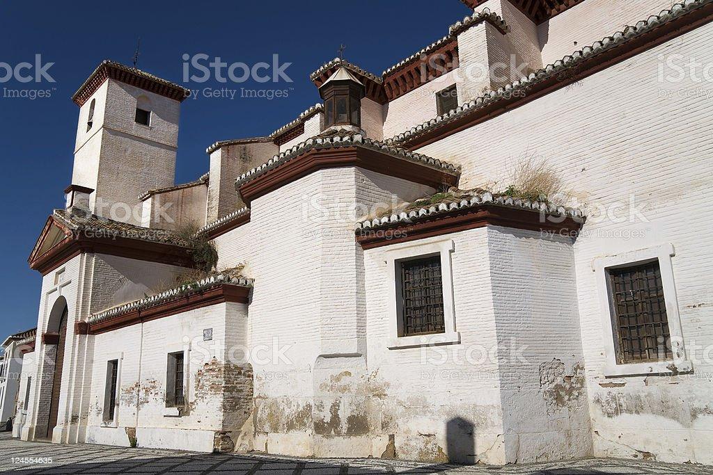 San Nicolas in Granada, Andalusia, Spain stock photo