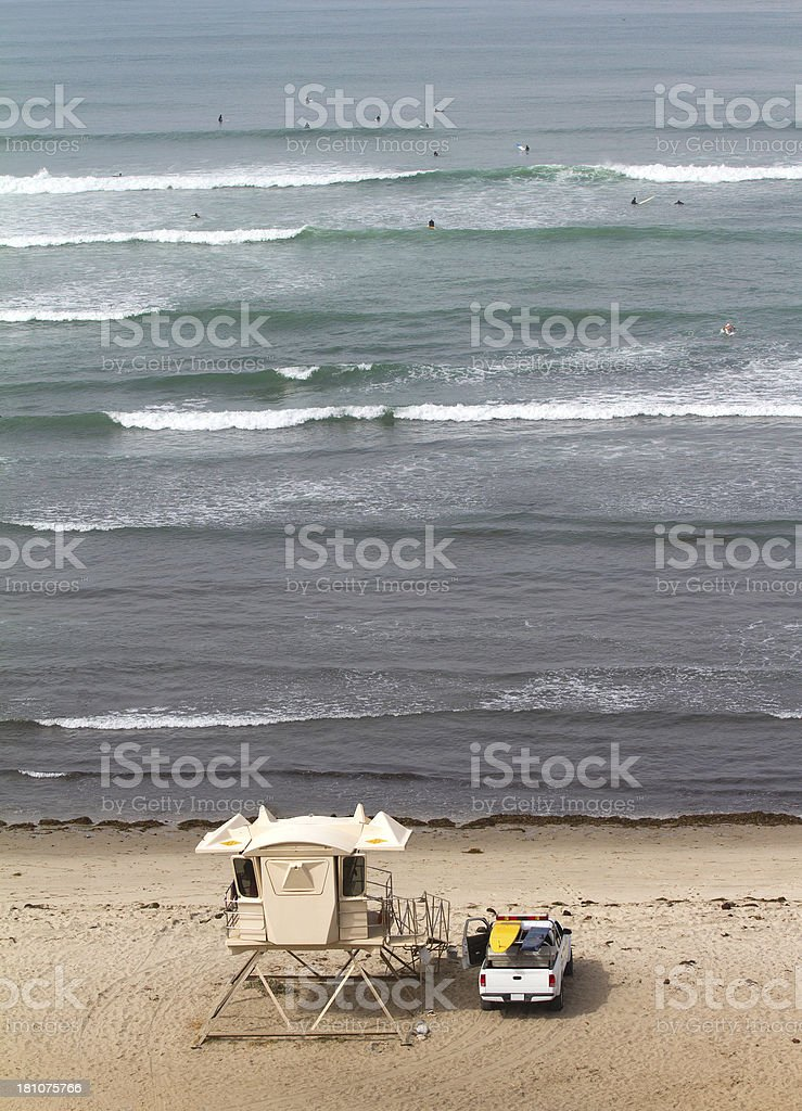 San Onofre State Beach royalty-free stock photo