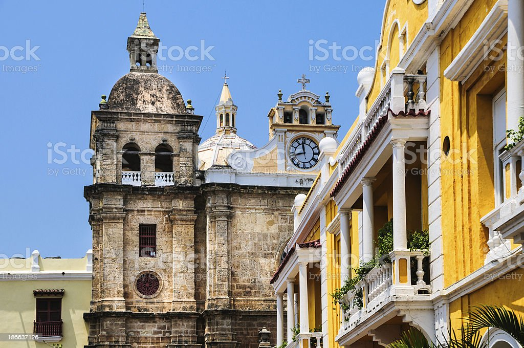 San Pedro Claver Church (1602) stock photo