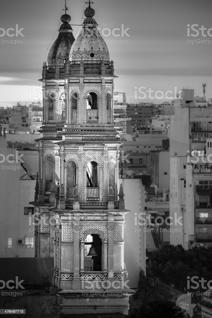 San Pedro Telmo Church, Buenos Aires, Argentina stock photo