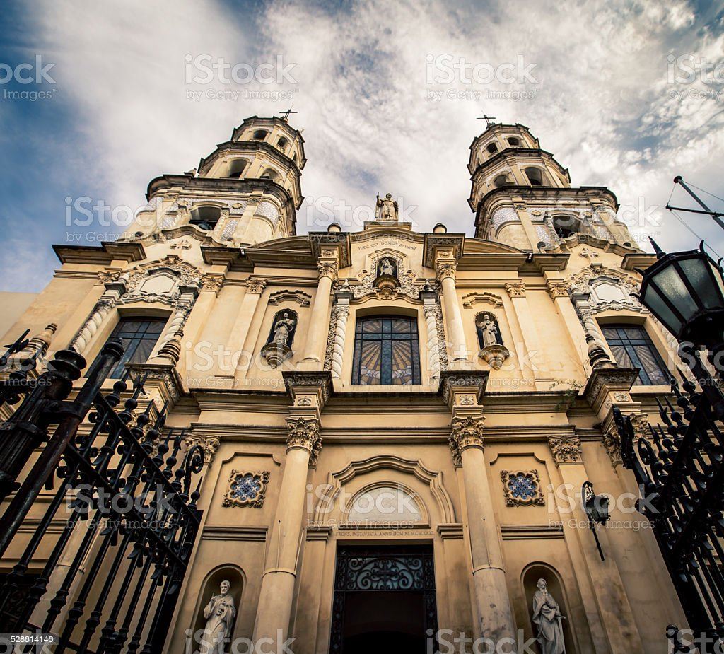 San Pedro Telmo church stock photo