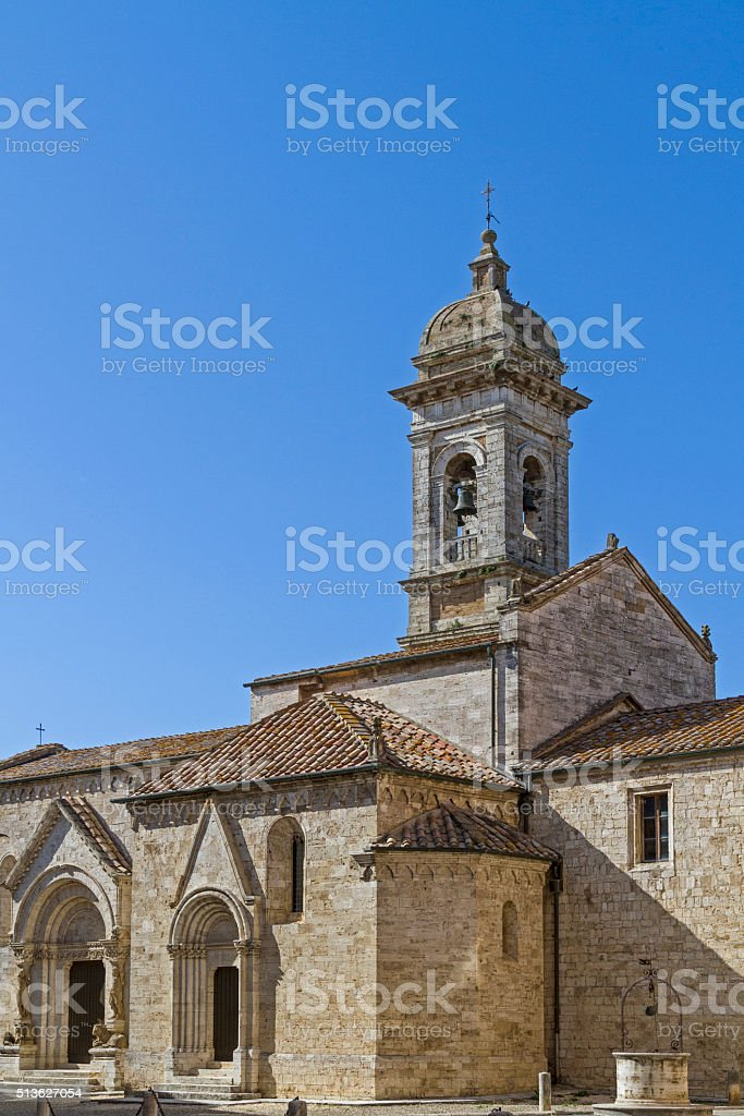 San Quirico d Orcia stock photo