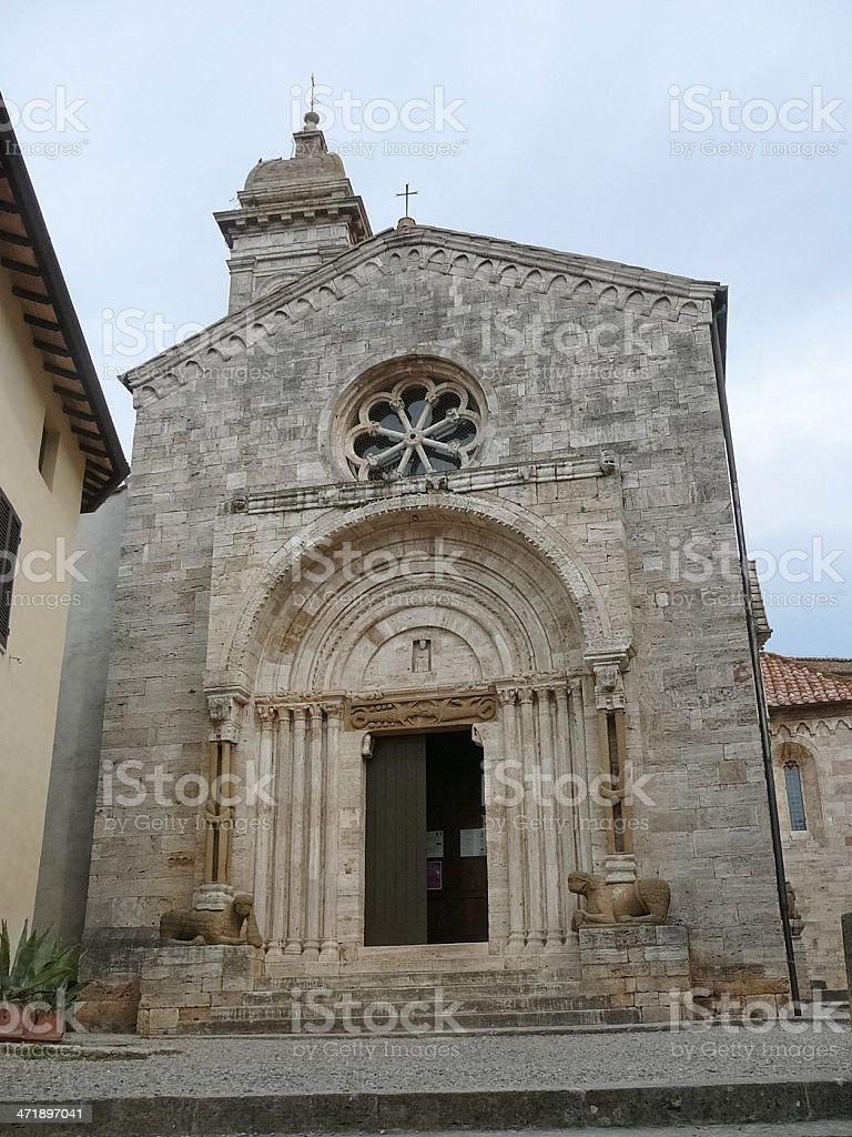 San Quirico Orcia, Tuscany, Italy royalty-free stock photo
