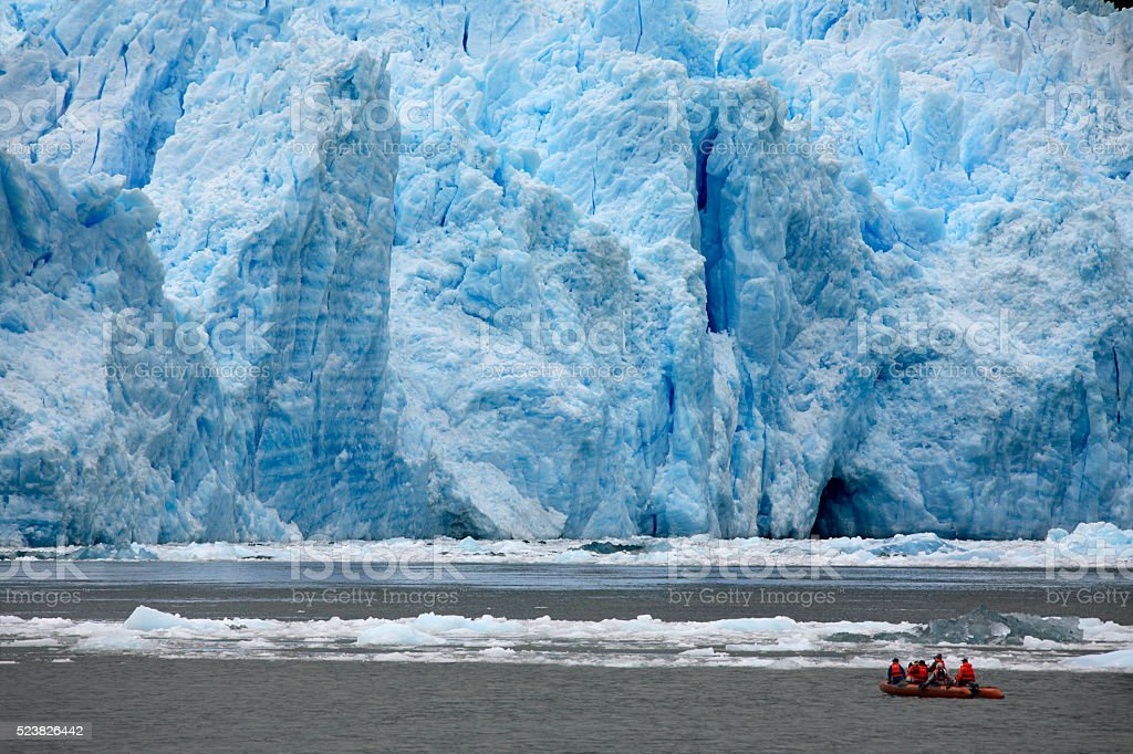 San Rafael Glacier - Patagonia - Chile stock photo