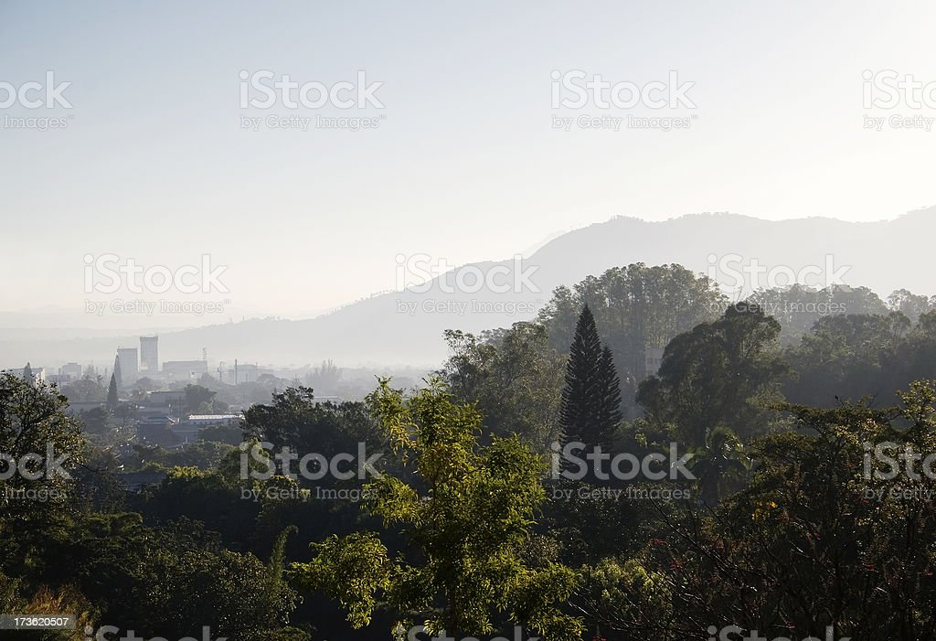 San Salvador City stock photo