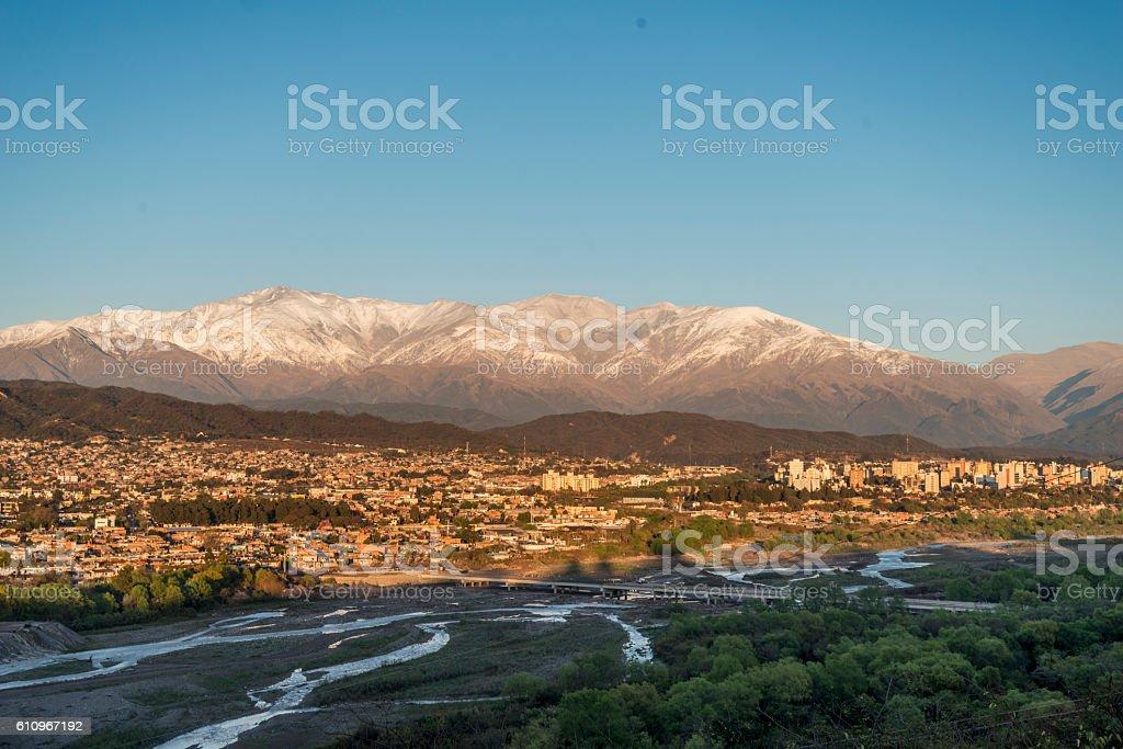 San Salvador de Jujuy stock photo