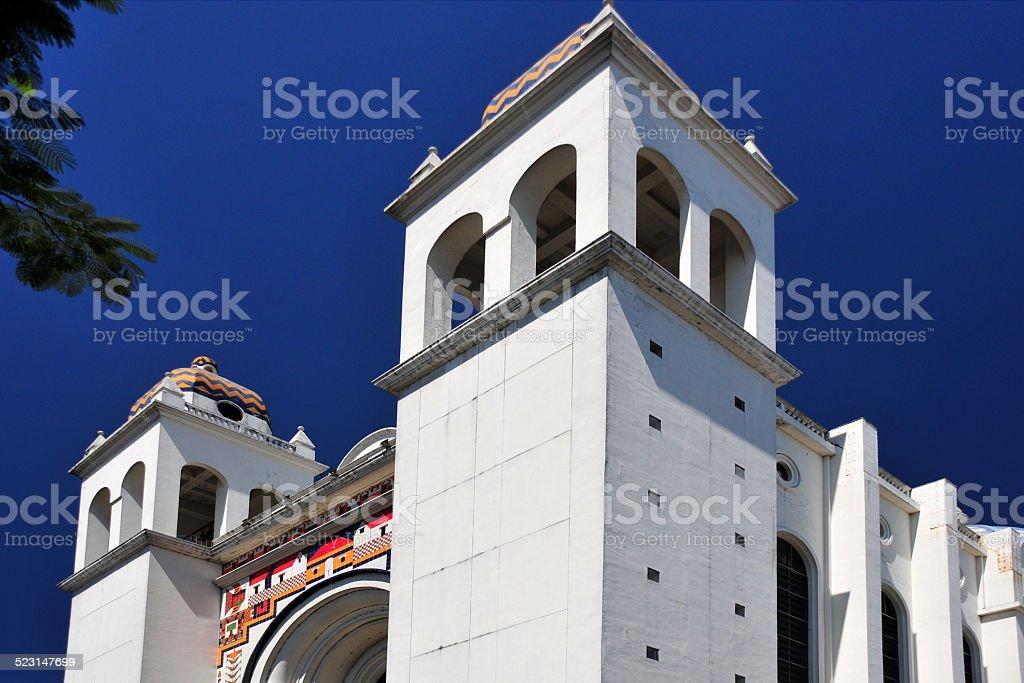 San Salvador, El-Salvador: Catholic Cathedral stock photo