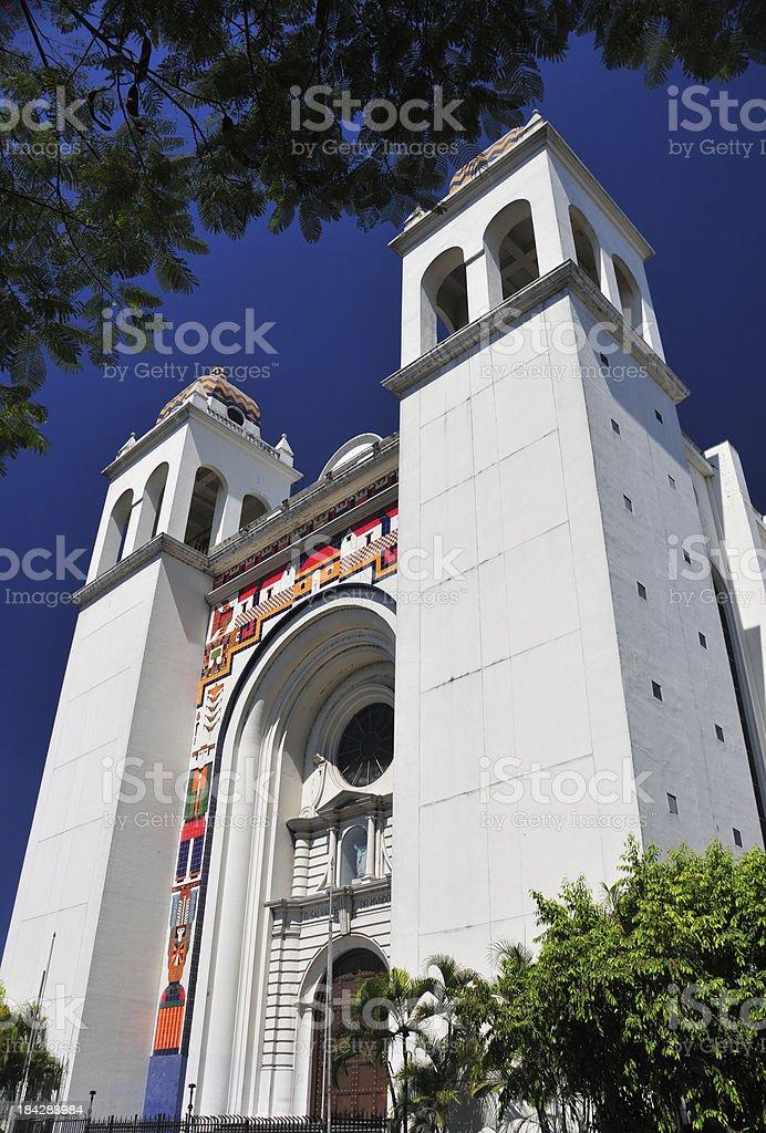 San Salvador, El-Salvador: Metropolitan Cathedral of the Holy Savior stock photo