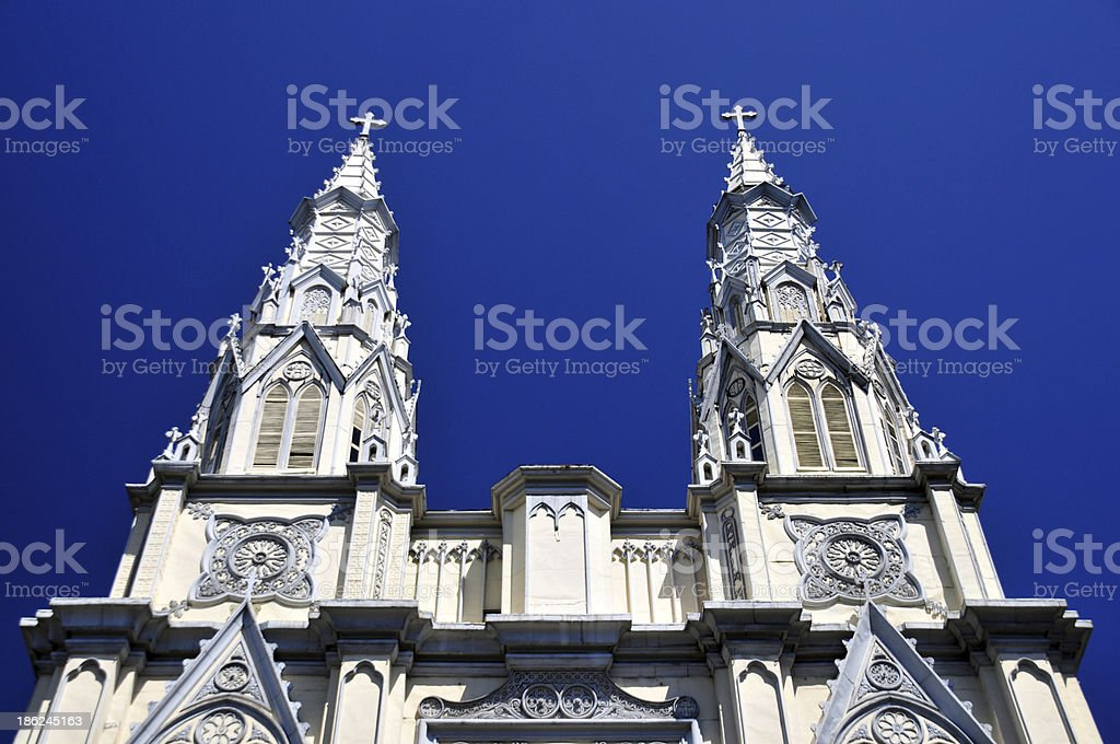 San Salvador, El-Salvador: Sacred Heart of Jesus Basilica stock photo