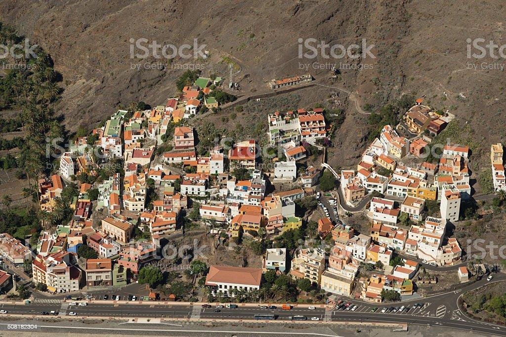 San Sebastian de La Gomera stock photo