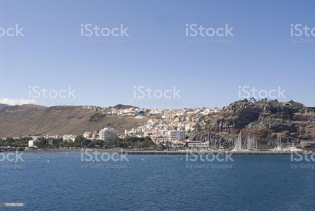 San Sebastian, La Gomera foto stock royalty-free
