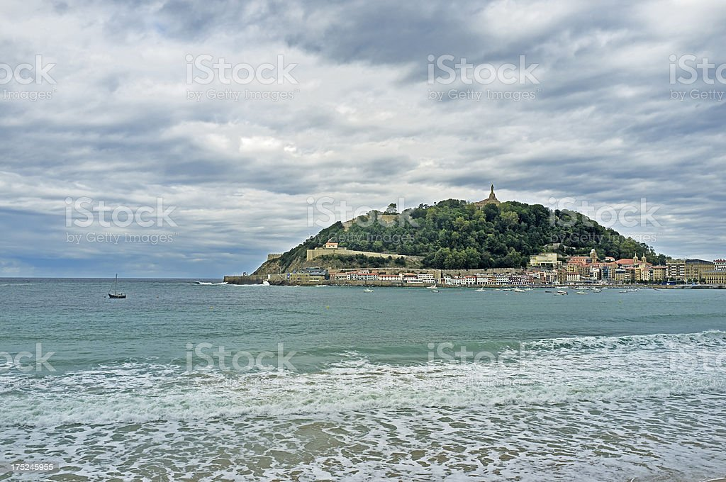 San Sebastian royalty-free stock photo