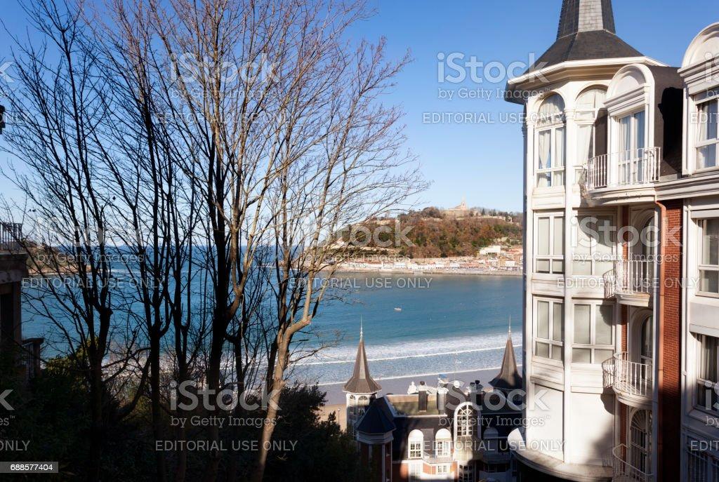 San Sebastian stock photo