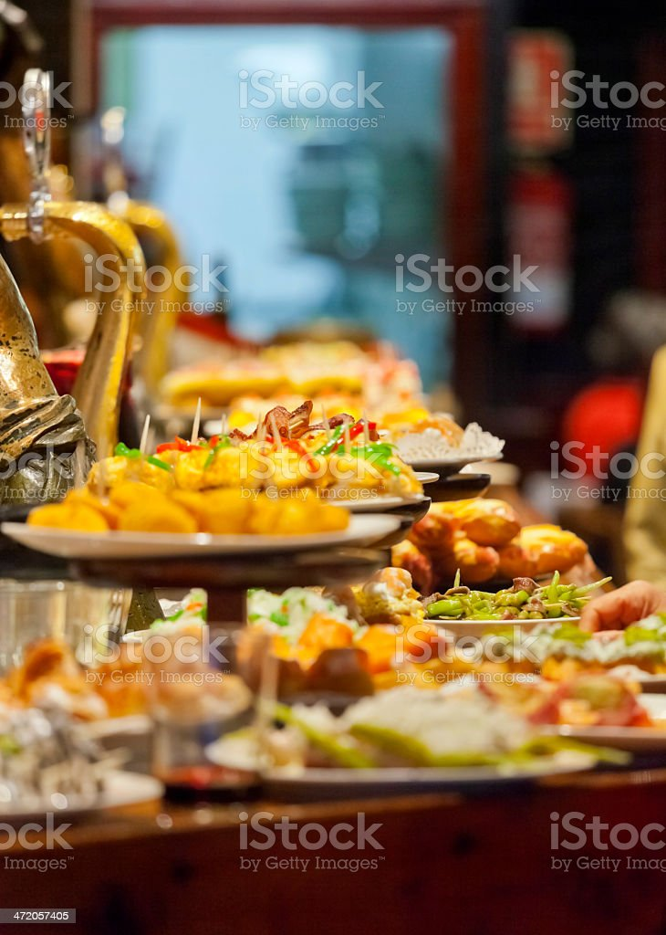 San Sebastian Tapas Bar stock photo