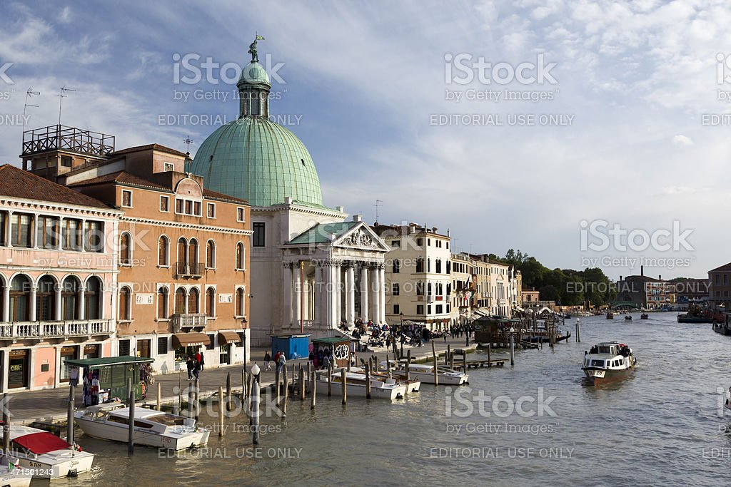 San Simeone Piccolo royalty-free stock photo