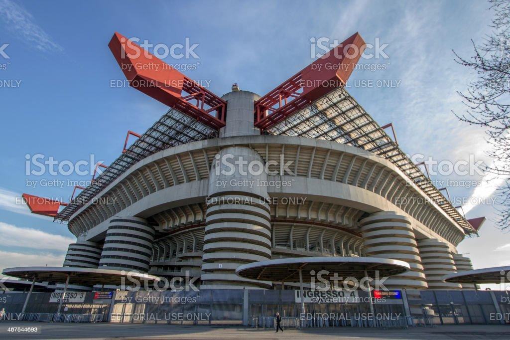 San Siro Stadium stock photo