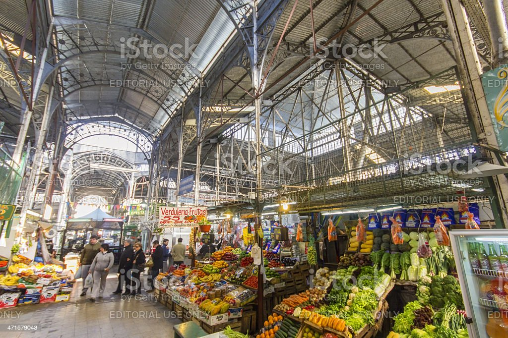 San Telmo Market stock photo