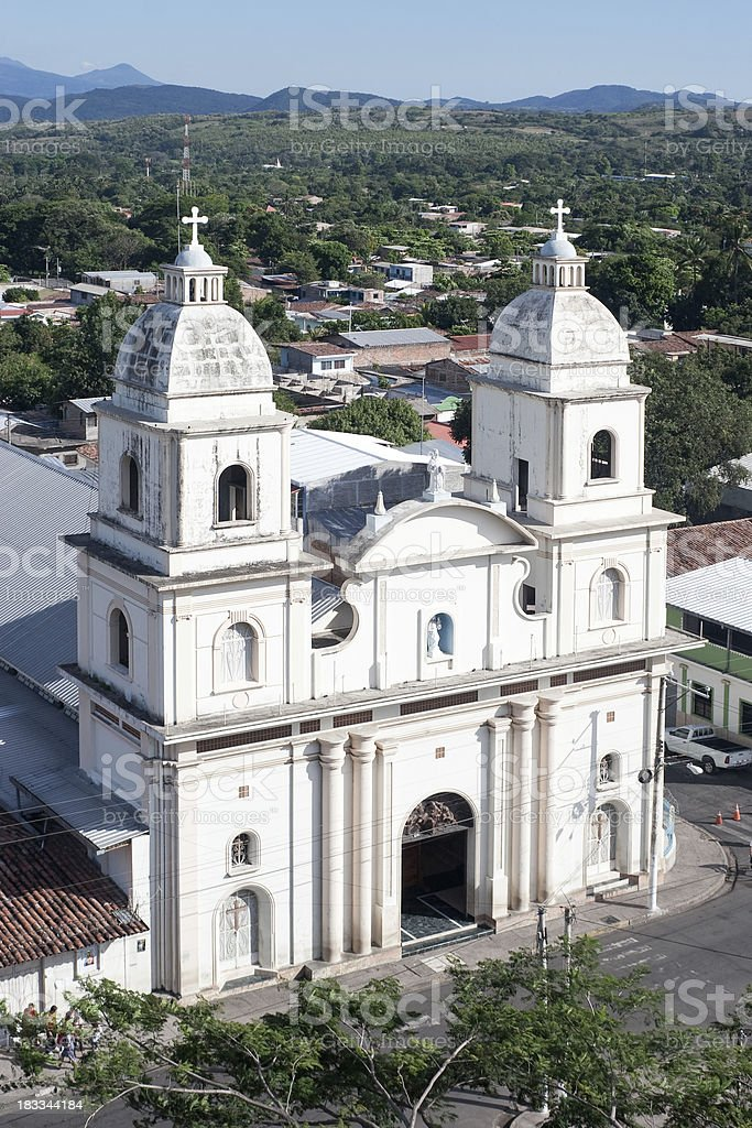 San Vicente Cathedral royalty-free stock photo