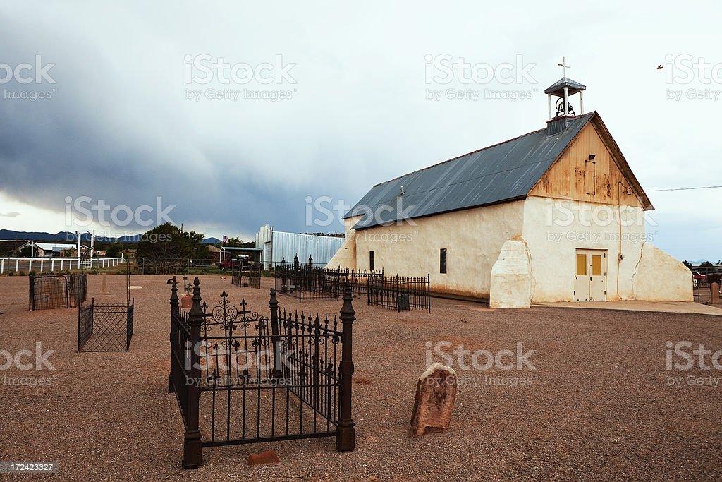 San Vicente de Paul Catholic Church royalty-free stock photo