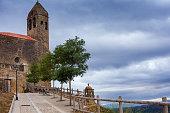 San Vicente de Sonsierra before the storm. Spain